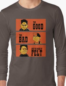 Angel - The Good, the bad, and the made of felt Long Sleeve T-Shirt