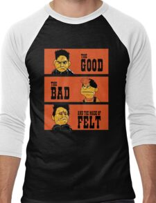 Angel - The Good, the bad, and the made of felt Men's Baseball ¾ T-Shirt