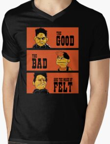 Angel - The Good, the bad, and the made of felt Mens V-Neck T-Shirt