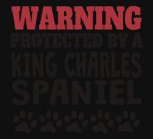Protected By A King Charles Spaniel Baby Tee