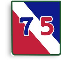 75th Infantry Division (United States) Canvas Print