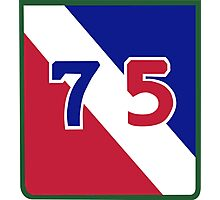 75th Infantry Division (United States) Photographic Print