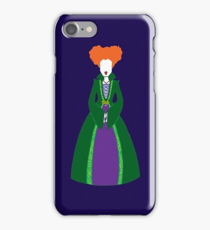 Hocus Pocus - Winnie Sanderson iPhone Case/Skin