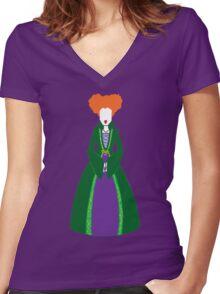 Hocus Pocus - Winnie Sanderson Women's Fitted V-Neck T-Shirt
