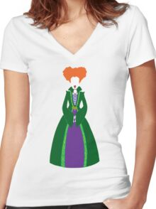 Hocus Pocus - Winnie Sanderson Women's Fitted V-Neck T-Shirt