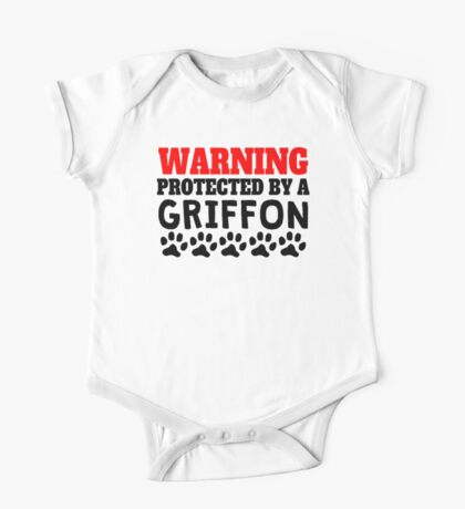 Protected By A Griffon One Piece - Short Sleeve