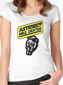 Astronaut Mike Dexter Women's Fitted Scoop T-Shirt