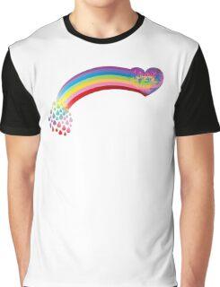 Heart rainbow Graphic T-Shirt