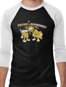 Drunk & Disorderly Men's Baseball ¾ T-Shirt