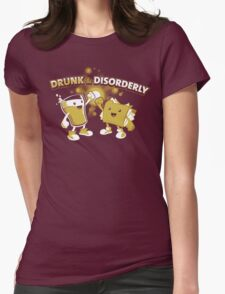 Drunk & Disorderly Womens Fitted T-Shirt