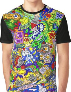 Scrawlour Graphic T-Shirt