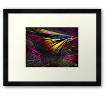 Within many Shadows of mystery Framed Print