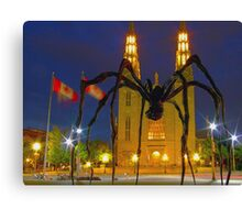 """Maman"" meets ""The Church""  Canvas Print"