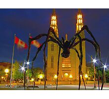 """Maman"" meets ""The Church""  Photographic Print"
