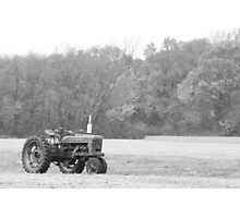 The Farmer's Tractor Photographic Print