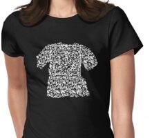 QR Recursion Womens Fitted T-Shirt