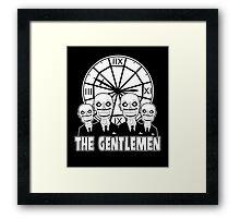 The Gentlemen Logo Framed Print