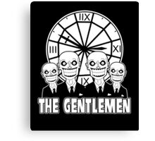The Gentlemen Logo Canvas Print