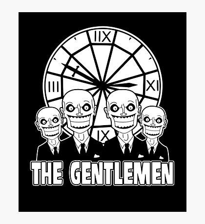 The Gentlemen Logo Photographic Print