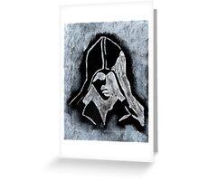 Assasins Creed Painting Greeting Card