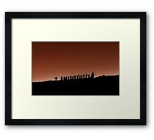 an unexpected journey Framed Print