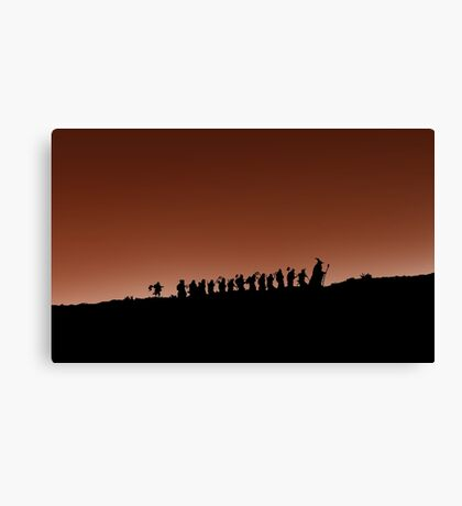 an unexpected journey Canvas Print
