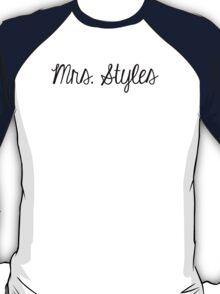 Mrs. Styles T-Shirt