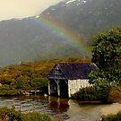 Tasmania, Cradle Mt Rainbow by photoj