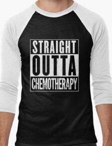 Straight Outta Chemotherapy Men's Baseball ¾ T-Shirt