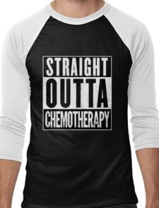 Straight Outta Chemotherapy Men's Baseball ¾ T-Shirt