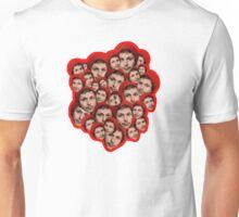 Michael Cera Plz - Red Outline Unisex T-Shirt
