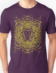Crop Cirlces - yellow T-Shirt