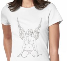 Light And Being Womens Fitted T-Shirt