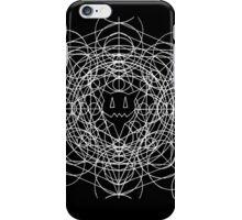 Crop circles (white) iPhone Case/Skin