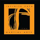 Infinite Path Martial Arts Logo - Orange by Robyn Scafone