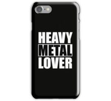 Heavy Metal Lover (iPhone) iPhone Case/Skin