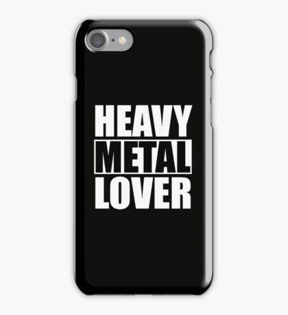 Heavy Metal Lover (iPhone) iPhone Case/Skin