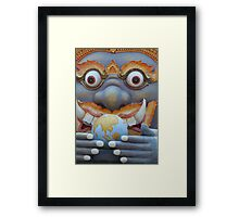 Consuming the Earth  Framed Print
