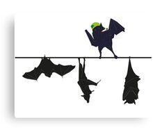 Top bat Canvas Print