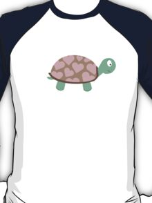 Cute Turtle with hearts T-Shirt