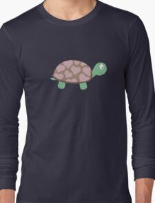 Cute Turtle with hearts Long Sleeve T-Shirt