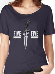 Buffy - Faith 5 by 5 minimalist poster Women's Relaxed Fit T-Shirt
