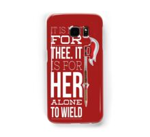 Buffy - it is not for thee Samsung Galaxy Case/Skin