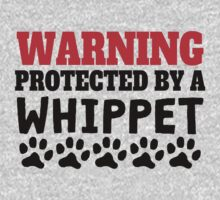 Protected By A Whippet One Piece - Long Sleeve
