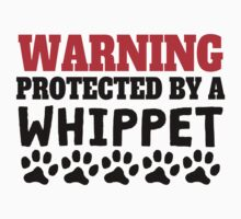 Protected By A Whippet Kids Clothes