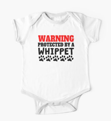 Protected By A Whippet One Piece - Short Sleeve