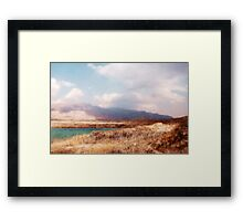 Quetta - Pakistan Mountain Landscape Framed Print
