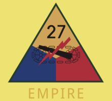 27th Armored Division 'empire' (United States) Baby Tee