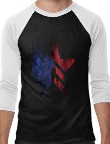 Mass Effect: Paragon-Renegade Men's Baseball ¾ T-Shirt