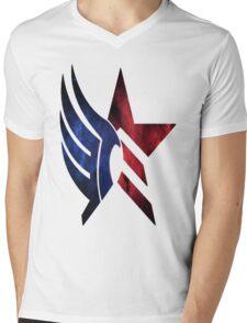 Mass Effect: Paragon-Renegade Mens V-Neck T-Shirt